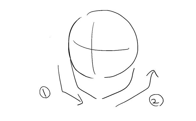 イラスト講座アタリを使った顔の描き方 イラスタート