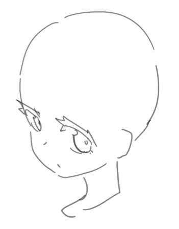 パーマ 男の子 イラスト