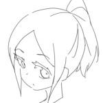 【イラスト講座】キャラの髪の描き方