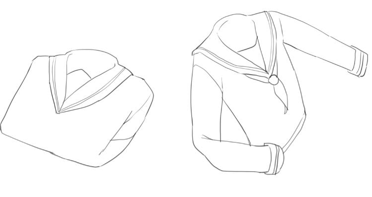 イラスト講座服の描き方布としわの特徴 編 イラスタート