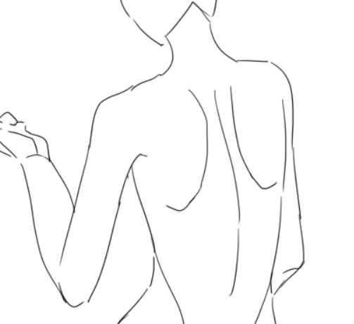 イラスト講座後ろ姿の描き方 イラスタート