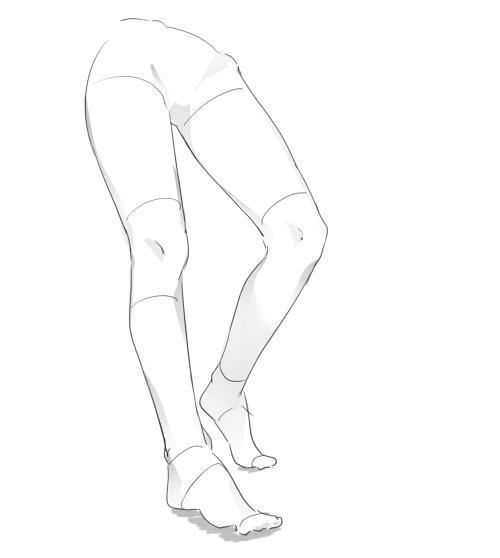 イラスト講座脚の描き方 イラスタート
